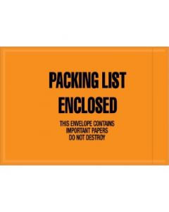 """Military Specification """"Packing List Enclosed"""" Envelopes"""