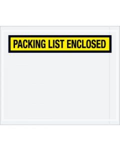 """Panel Face """"Packing List Enclosed"""" Envelopes"""