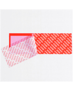 Tamper Evident Security Tape Strips on a Roll